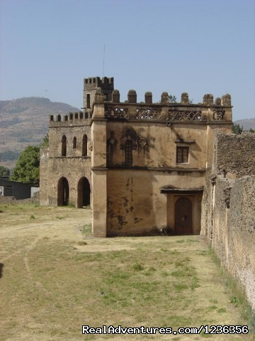 Sights of Ethiopia Tour and Travel: Fasil's Castle