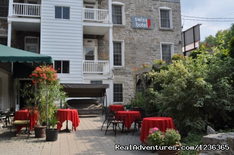 Swiss Hotel (Ottawa, Canada) Backyard/ Patio  (#6 of 23) - Swiss Hotel (Ottawa, Canada) Ottawa Conventions