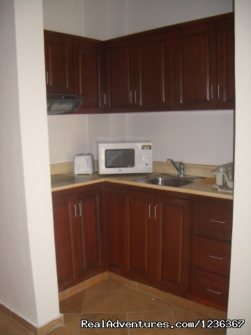 kitchen - Affordable, Deluxe studio, Bavaro- Punta Cana