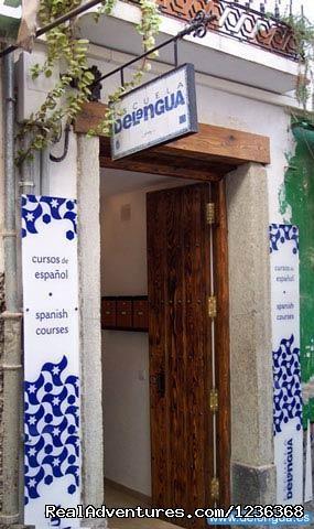 Front door of Escuela Delengua - Escuela Delengua