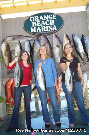 Girls Rule - Alabama Charter Fishing on the Intimidator