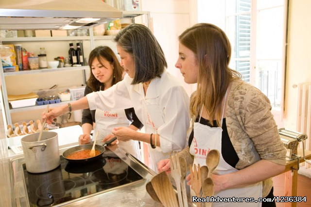 Tuscan cooking lessons