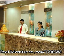 Delhi Hotel Accommodation: Reception