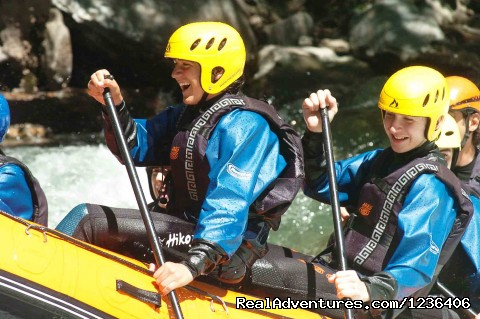 Full equipment in Rafting Activity - White Water Rafting in Pyrenees