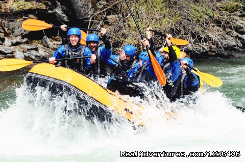 Special Senor and Stag activities in Spain - White Water Rafting in Pyrenees