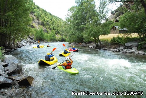 open-kayak in Noguera Pallaresa (#9 of 11) - White Water Rafting in Pyrenees
