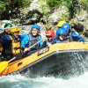 Family Rafting descend in Noguera Pallaresa River