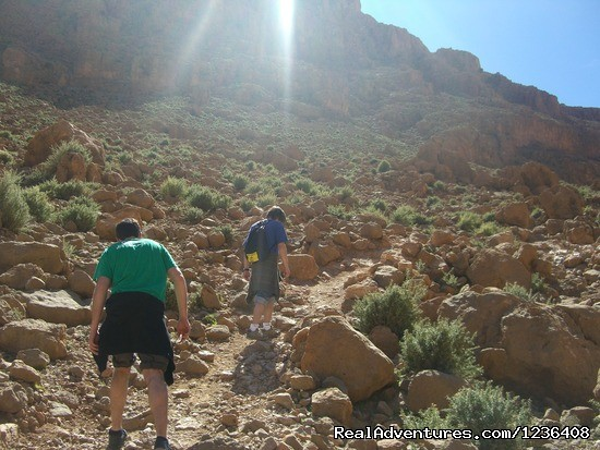 walking and Trekking in morocco Afra, Morocco Hiking & Trekking