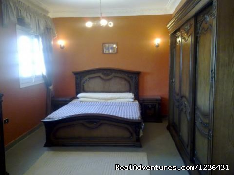 The main bedroom - Pyramids Flat