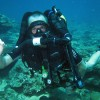 Diving on the rebreather with Borneo Dream