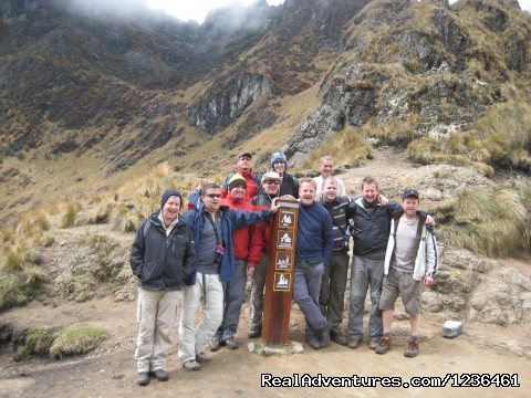- Hiking Inca Trail to Machupicchu
