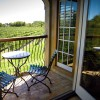 Private Balcony overlooking the vineyard