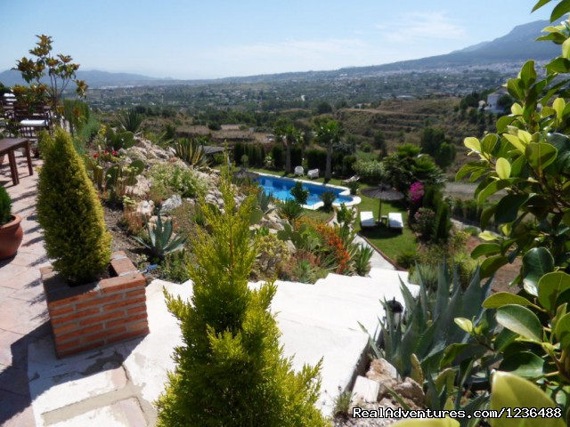 a view at B&B Casa Don Carlos, Malaga - Bed & Breakfast | Guest House Casa Don Carlos