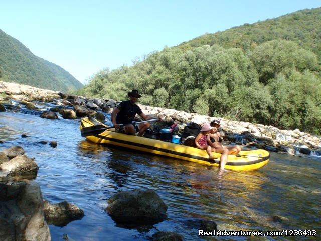 Family Robinson rafting - Robinson rafting in Croatia
