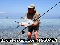 Permit Landed Onthe Flats Of Belize (#13 of 18) - Hopkins Getaway Inland Tours