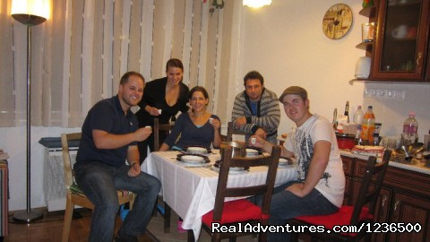 - Budapest home cooking class