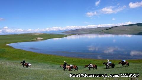 Horseback adventure in Hovsgol Mongolia
