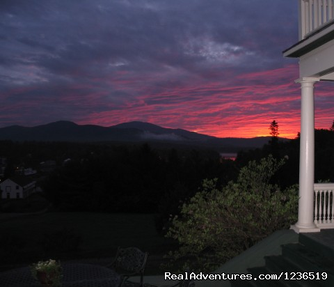 Amazing Views and Sunsets - Greenville Inn at Moosehead Lake