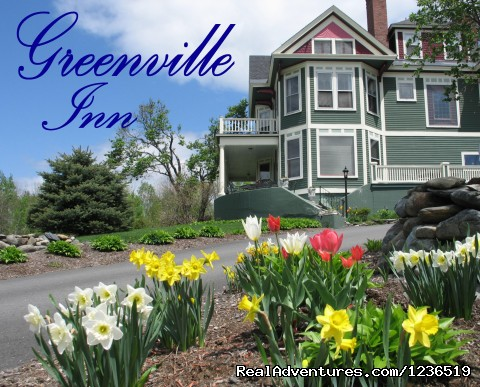 Spring at the Greenville Inn - Greenville Inn at Moosehead Lake