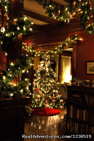 Holidays at the Greenville Inn - Greenville Inn at Moosehead Lake