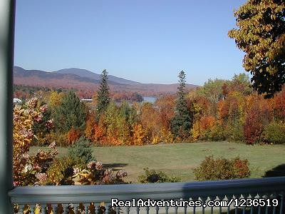 Leaf Peeping - Greenville Inn at Moosehead Lake
