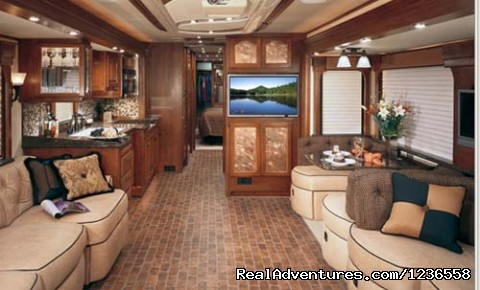 motor home interiors image 9 13 luxury rv rentals in the usa west palm 14300