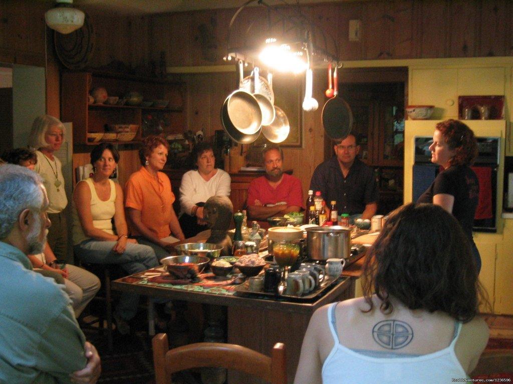 Cooking class | Image #19/25 | Renew & Relax at Fire Om Earth Retreat Center