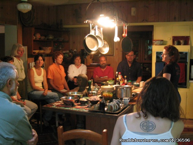 Cooking class - Renew & Relax at Fire Om Earth Retreat Center