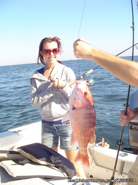 Jessica and Red Snapper (#4 of 8) - Adventure Charters and Dive