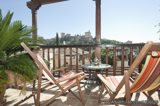 Bright Home wth Gorgeous Views in Historic quarter Granada, Spain Vacation Rentals