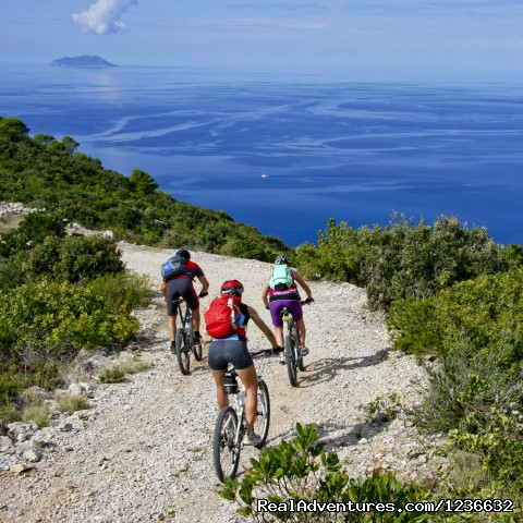 - Mountain biking holidays on island of Vis, Croatia