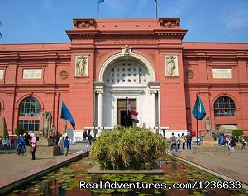 Day Tour to Pyramids of Giza & the Egyptian Museum: The Egyptian Museum
