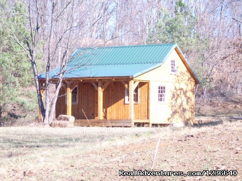Seneca Point Cabins - Ohio's Best Kept Secret: Cabin, Front View