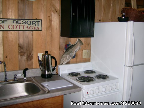 Kitchen - Seneca Point Cabins - Ohio's Best Kept Secret