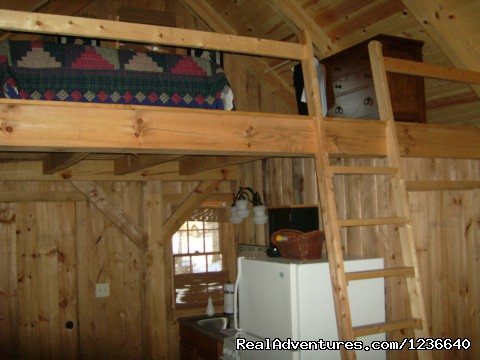 Loft - Seneca Point Cabins - Ohio's Best Kept Secret
