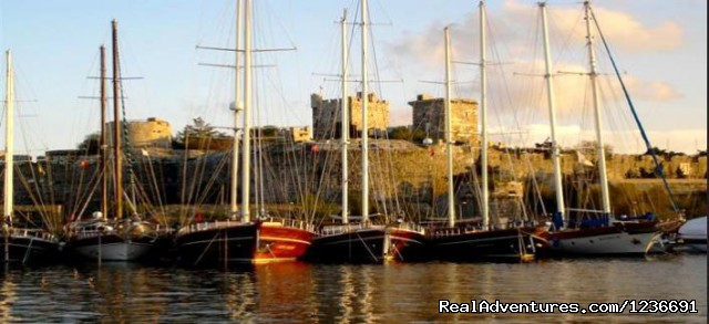 Bodrum Castle in Bodrum - Blue Cruise in Turkey