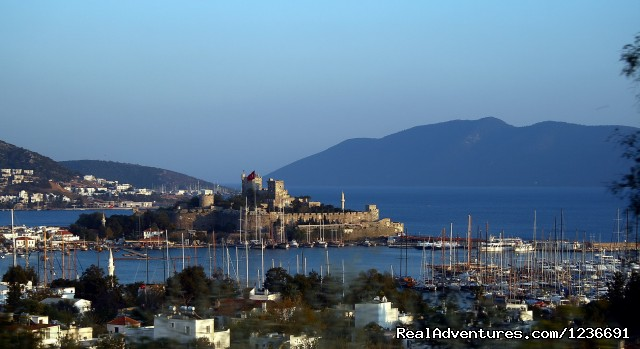 Bodrum Castle,Front View - Blue Cruise in Turkey