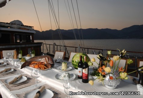Meals on Board (#11 of 18) - Blue Cruise in Turkey