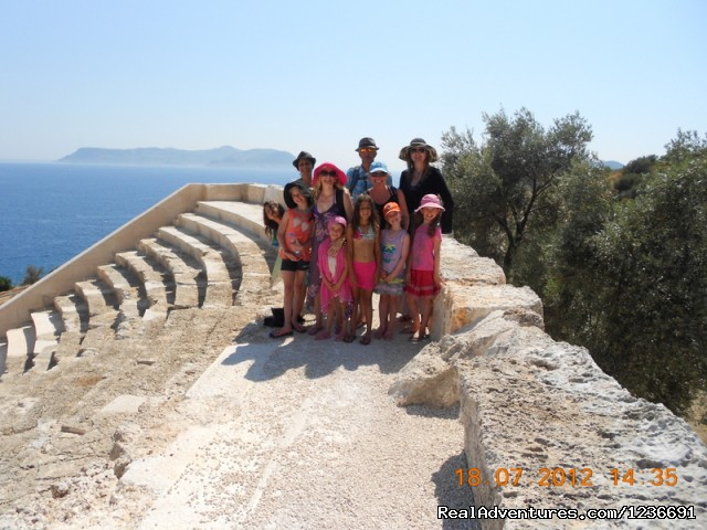 Ancient Theatre in Ka - Blue Cruise in Turkey