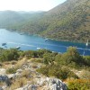 The view from the top of St.Nicholaus Island in Fethiye.