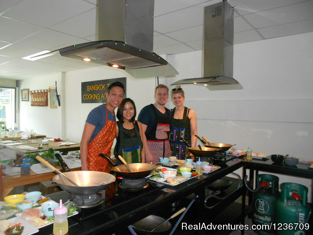 Cooking Instruction (#2 of 5) - Learn to Cook Thai in Bangkok