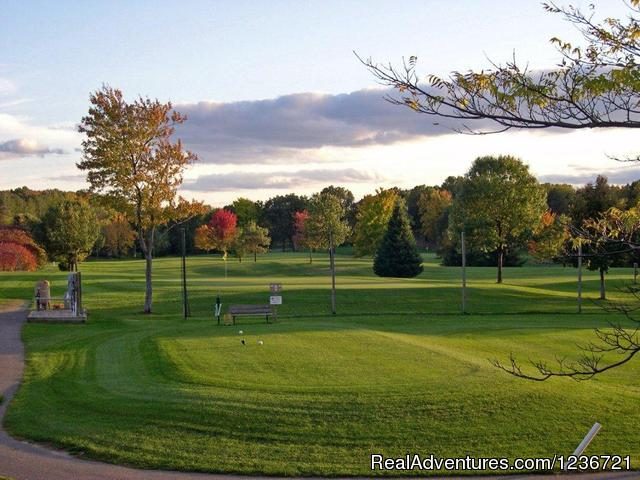Beautiful Par 4 - Fairfield Hills Golf Course & Range