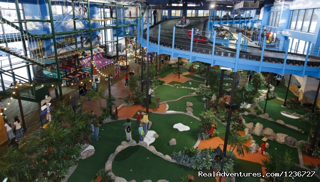 Overview - Kalahari Indoor Theme Park