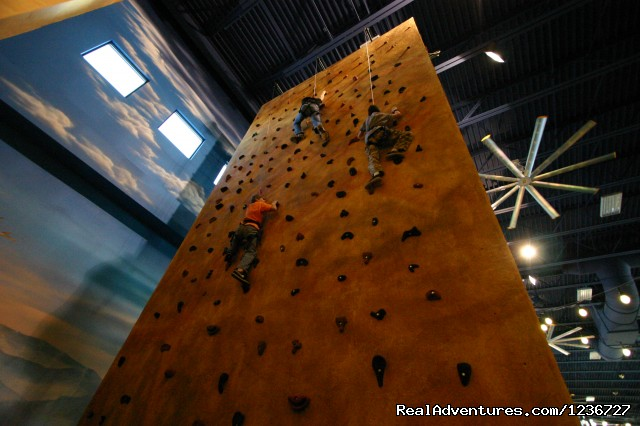 Climbing Wall - Kalahari Indoor Theme Park