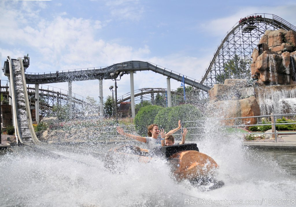Log Flume Ride | Image #5/6 | Timber Falls Adventure Park & Mini Golf