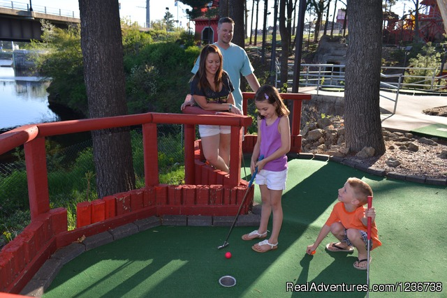 Timber Falls Adventure Park & Mini Golf Theme Park Wisconsin Dells, Wisconsin