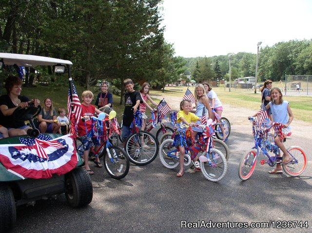Bike Parades - Arrowhead Resort Campground