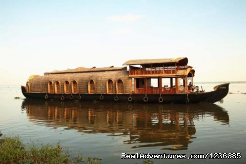 Alleppey Houseboats tours Kerala India: