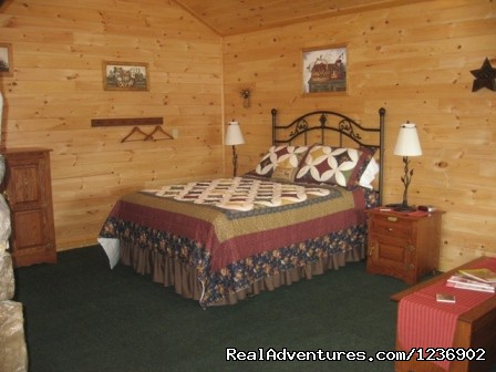 Cabin 10 bed - Beautiful Weekends or Vacations At 7 C's Lodging