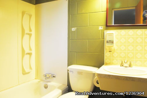 bathroom (#3 of 5) - Lagana Hotel, Lanigan, Saskatchewan (SK)
